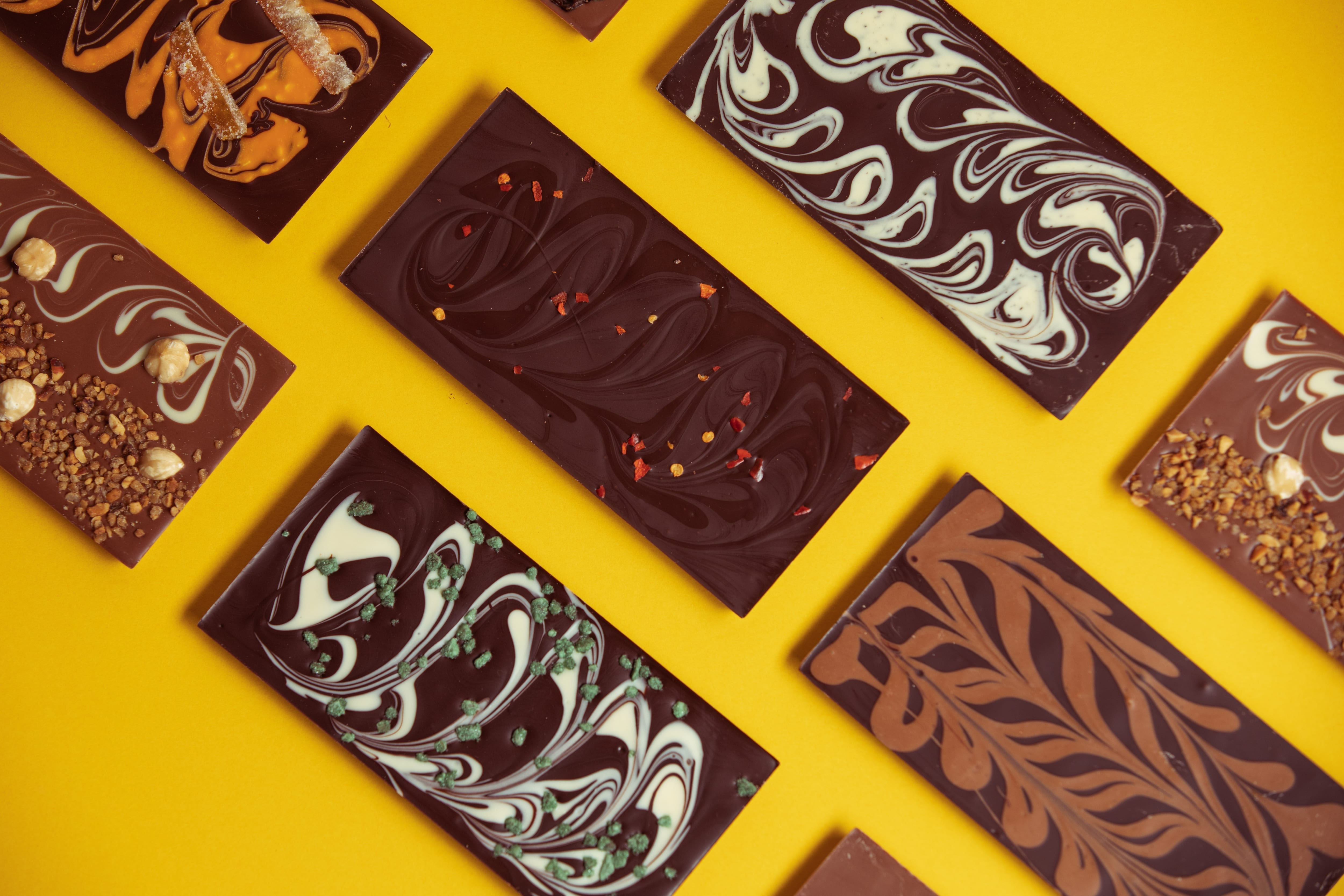 Wilde Irish Chocolates - Midnight Mint chocolate bar