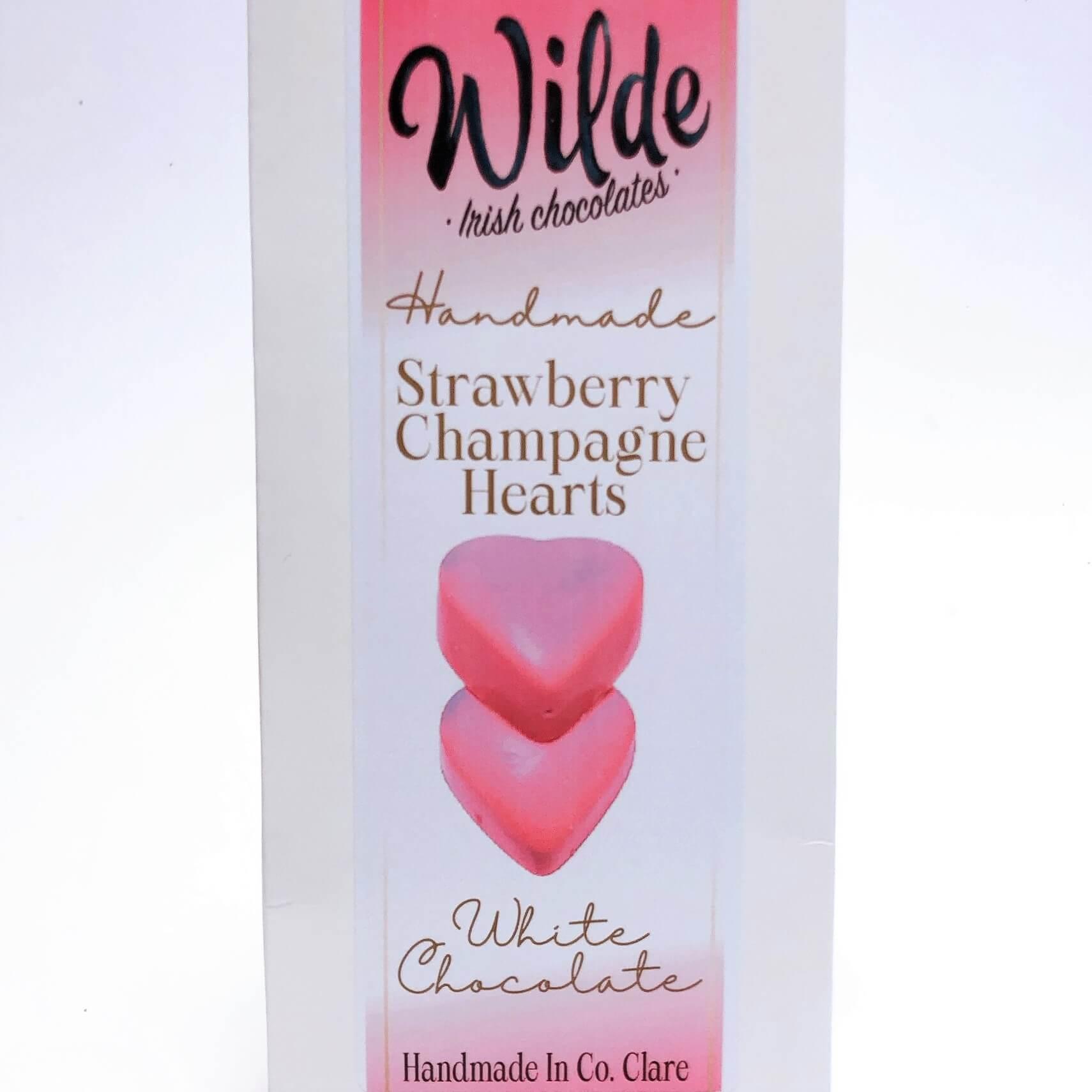 Strawberry Champagne Irish Chocolate Truffle - Wilde Irish Chocolates