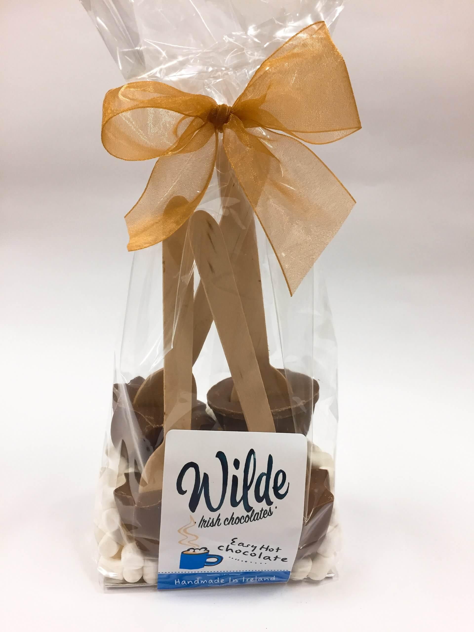Easy Hot Chocolate - homemade in Ireland - Wilde Irish Chocolates