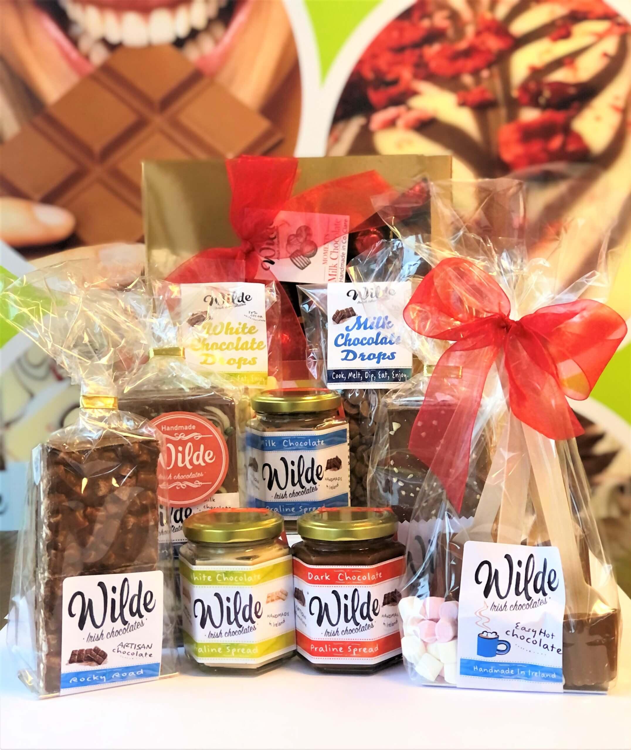 Go Wilde Chocolate Happiness In Box Gift Hamper - Wilde Irish Chocolates