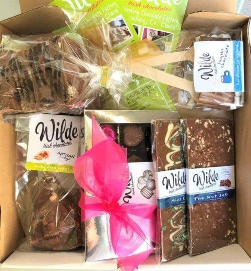 chocolate gift boxes - Wilde Irish Chocolates