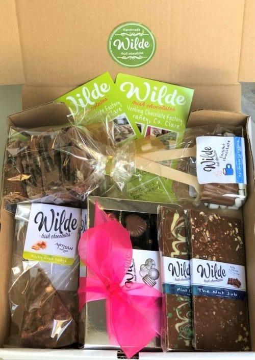 chocolate box Ireland - Wilde Irish Chocolates