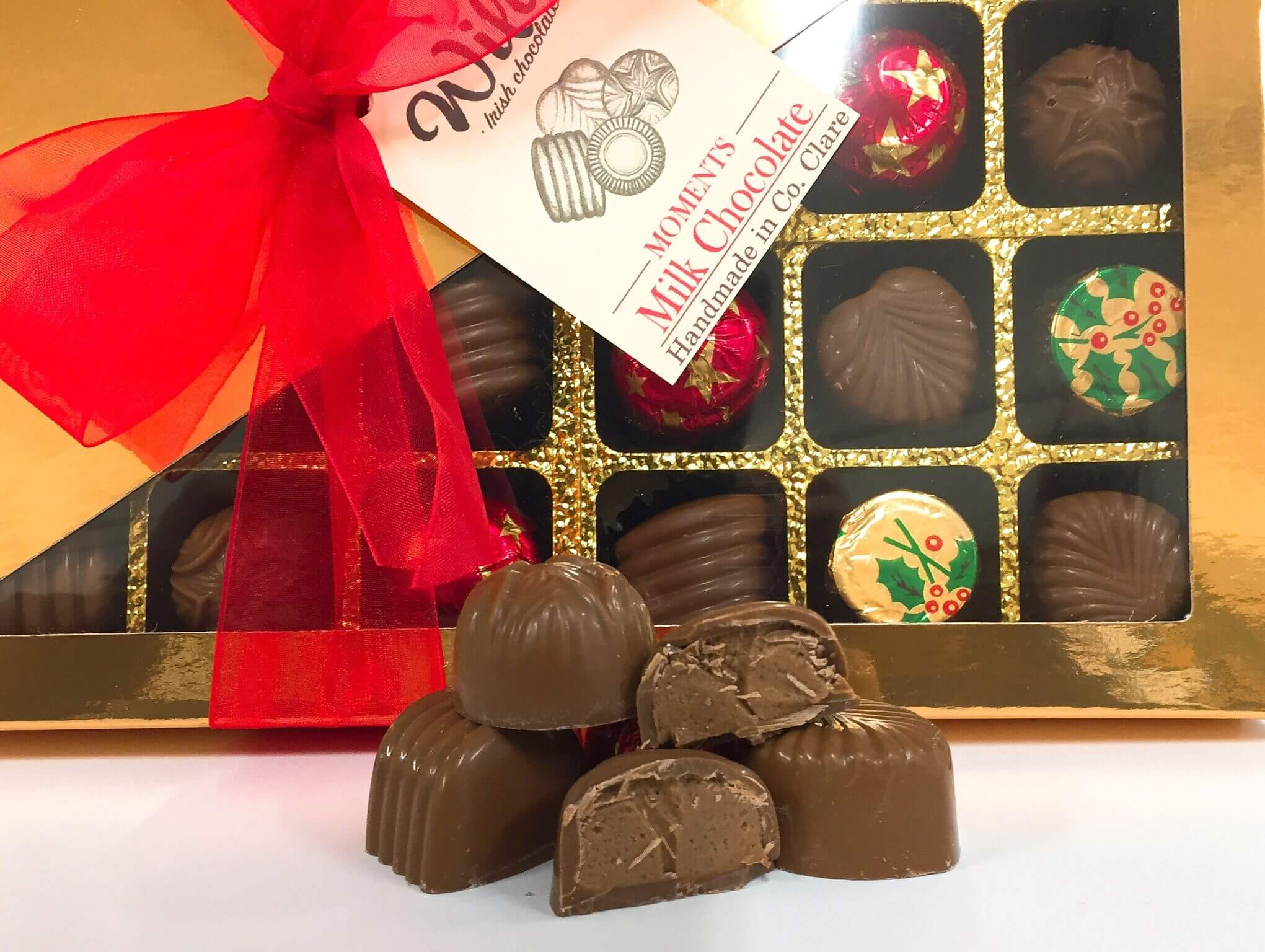 Moments 24 Milk Chocolate Selection Box Image - Wilde Irish Chocolates