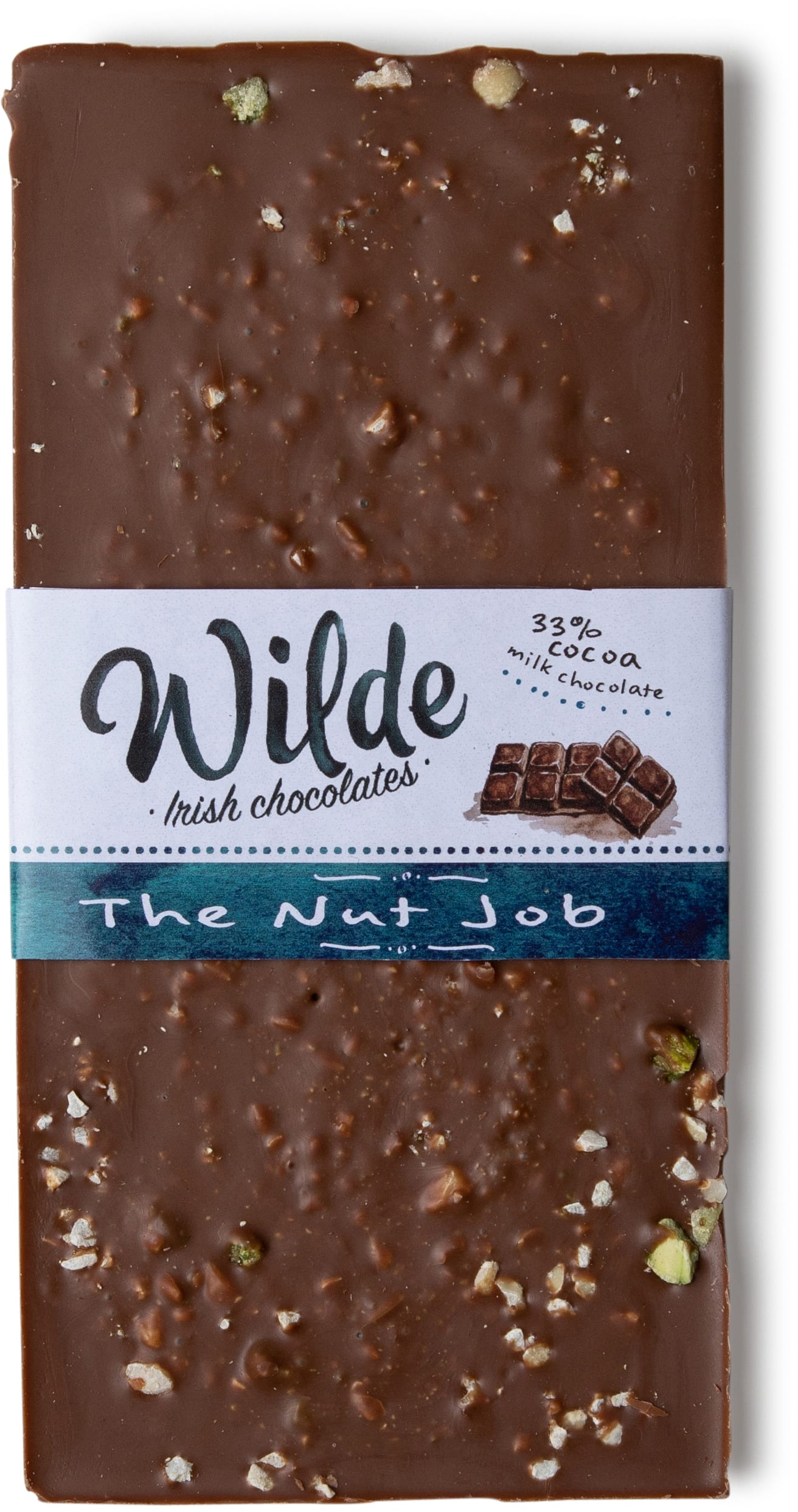 The nut job chocolate bar - Wilde Irish Chocolates