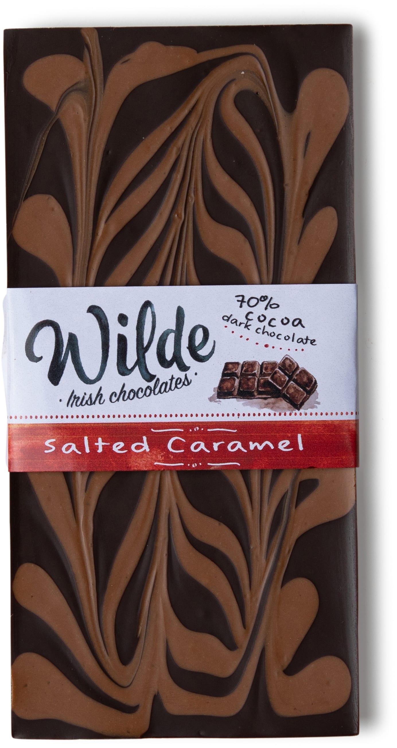 caramel chocolate bar - Wilde Irish Chocolates