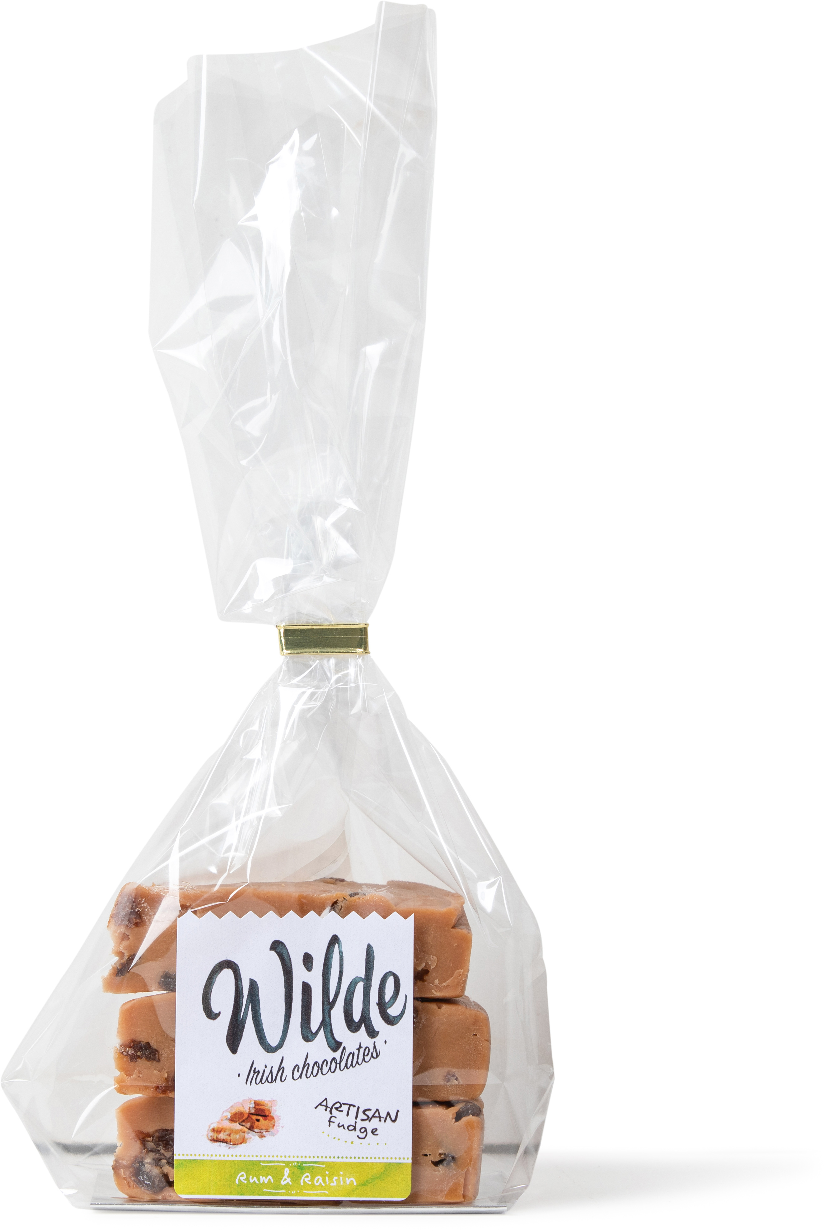 raisin chocolate fudge - Wilde Irish Chocolates