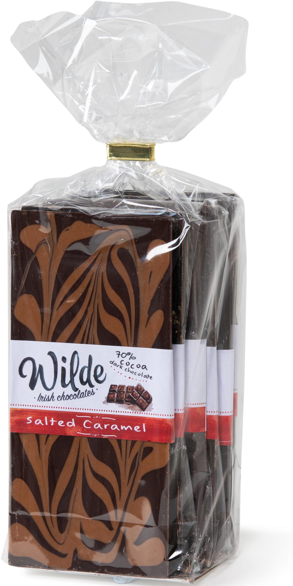 caramel chocolate bar pack - Wilde Irish Chocolates