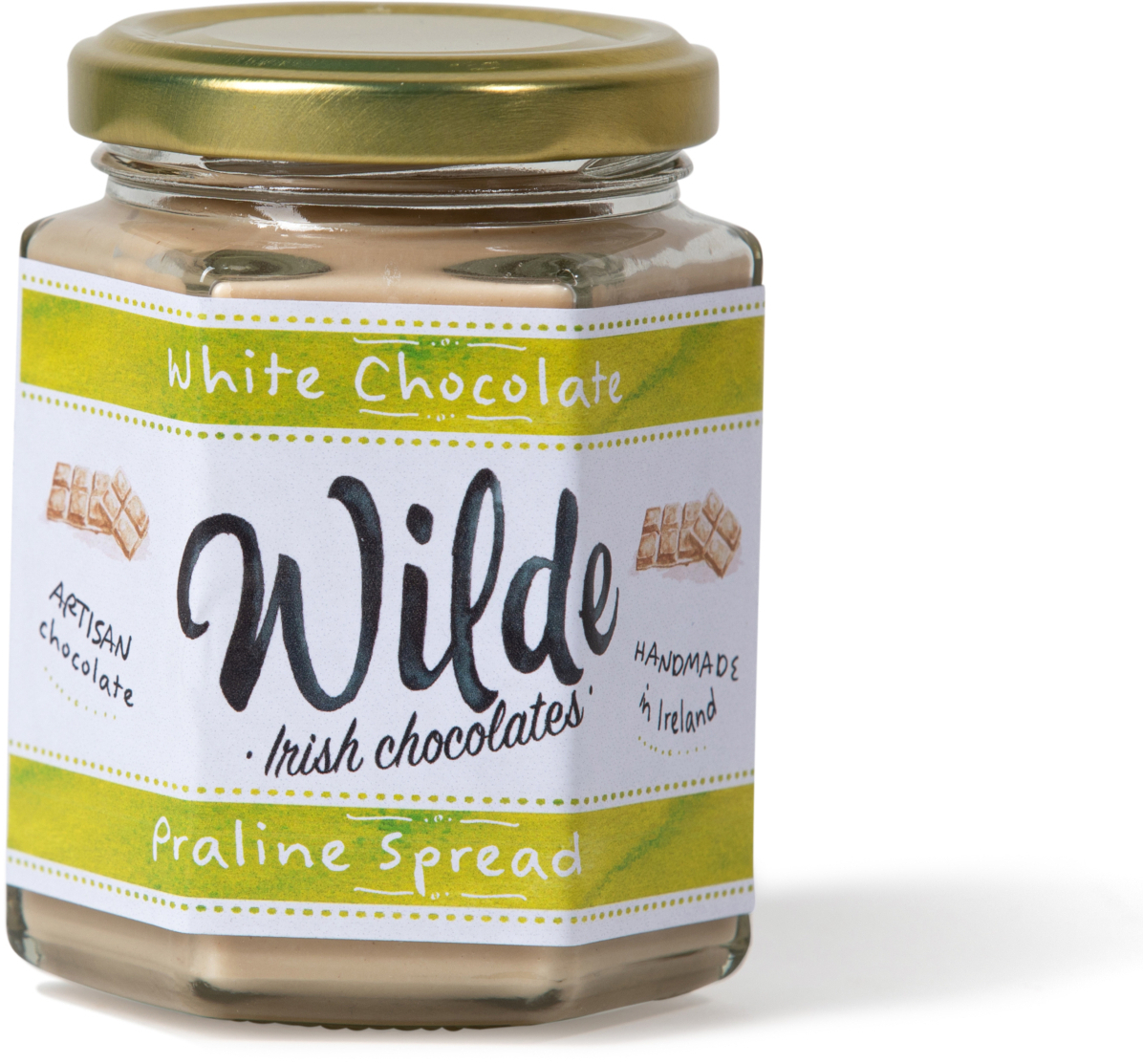 white chocolate spread - Wilde Irish Chocolates