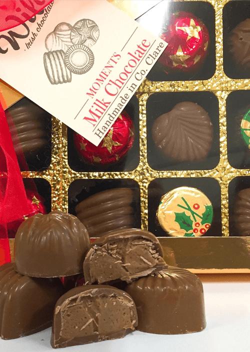 wildes moments chocolate 24 pack - handmade in Co. Clare - Wilde Irish Chocolates
